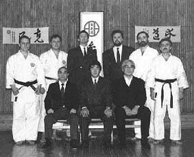 Мурата Хироши, Ивата Гендзо, Тетсуо Сато и старшие ученики
